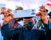 'It has 12 digits not 11' — slip containing Osinbajo's 'phone number' sets Twitter agog