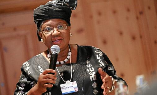 Global trade will grow by 8% in 2021, says Okonjo-Iweala