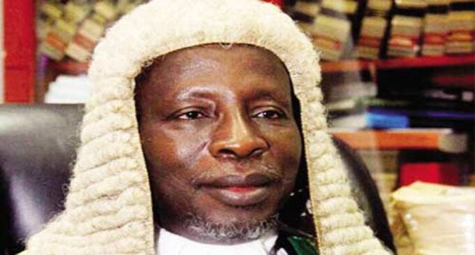 Kafarati, ex-chief judge of federal high court, is dead
