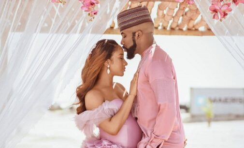 'Best birthday gift ever' — Adesua Etomi, Banky W welcome first child