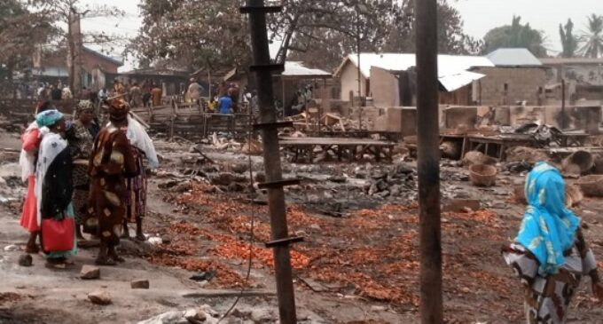 THE AFTERMATH: Yoruba, Hausa unite to observe Jumat — and rebuild the ruins of Shasha