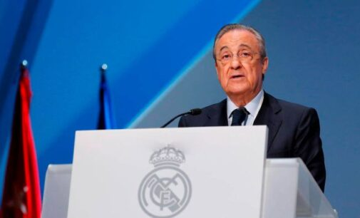 European Super League created to save football, says Real Madrid president