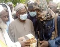 PHOTO: Gumi meets with bandits in Niger forest over Kagara abductions