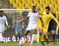 Ighalo scores first goal for Saudi club