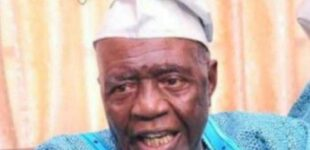 Aliu Omokide, ex-Bendel lawmaker, dies at 87