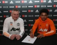 Nigerian-born Shola Shoretire signs first professional contract with Man United