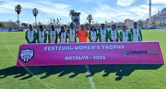 Falcons thrash Equatorial Guinea 9-0 to win Turkish Women's Cup