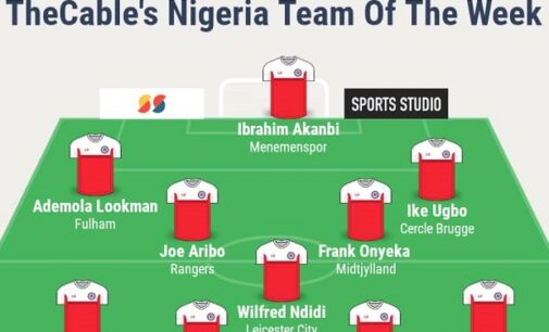 Aribo, Ndidi, Noble… TheCable's team of the week