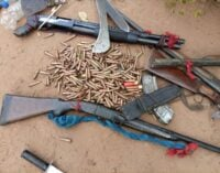 DSS, army recover firearms, ammunition in Ebonyi