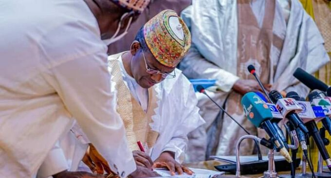 N2.47bn for air travel, N734m for donations, outfits — inside Zamfara's 2021 budget