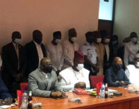 Olonisakin, Buratai appear before senate panel for screening as ambassadors