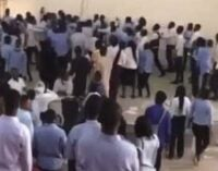 EXTRA: UniAbuja students beat lecturer for 'collecting answer scripts 45-minute into 3-hour exam'