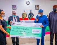 #EndSARS: Ekiti awards N7.4m to victims of police brutality