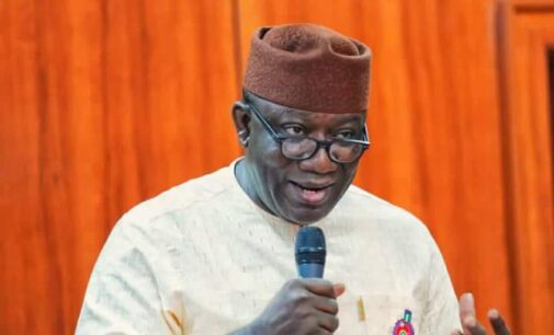 Fayemi to youths: Instead of moving to Canada, kick APC out if you're not satisfied