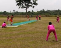 Maiden female cricket league ends with super-4 in Benin