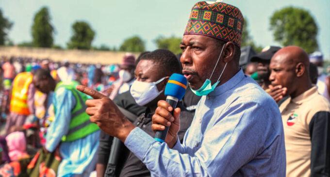 Zulum asks FG to hire mercenaries, seek foreign support to end insurgency