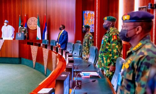 'Take out bandits and their sponsors' — Buhari orders service chiefs