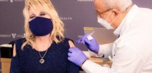 Dolly Parton sings 'Jolene' rewrite before getting COVID-19 vaccine