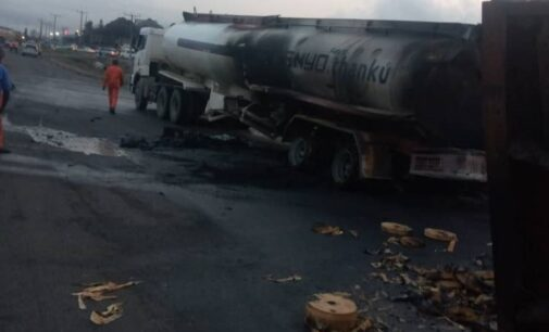 Seven vehicles affected in yet another fire incident at Otedola Bridge