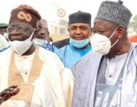 Tinubu: Ganduje helping to rid Nigeria of corruption