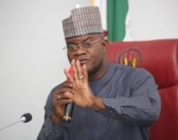Constitution review: Let each state determine minimum wage, says Yahaya Bello