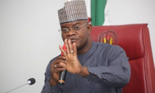 Yahaya Bello to youths: Take over presidency from elders in 2023