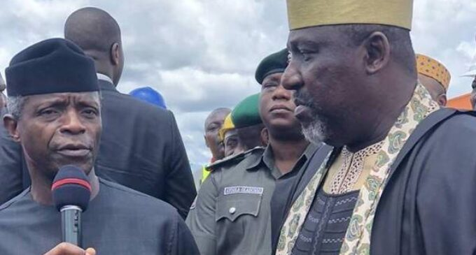 'It's an unusual situation' — Okorocha meets with Osinbajo over feud with Uzodimma