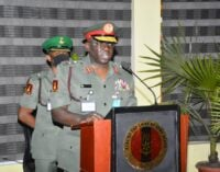 Army chief: How I plan to rebuild the military into formidable force