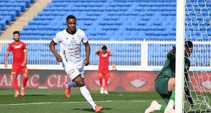 Ighalo nets brace as Al Shabab beat Damac