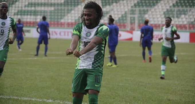 LINEUP: Iwobi returns for Lesotho clash after overcoming COVID-19