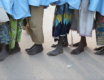 PHOTOS: Swollen feet, torn clothes… Jangebe schoolgirls return with scars of abduction
