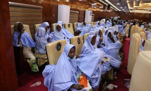 Jangebe schoolgirls released by abductors