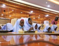 PHOTOS: Jangebe schoolgirls have first good meal after abduction