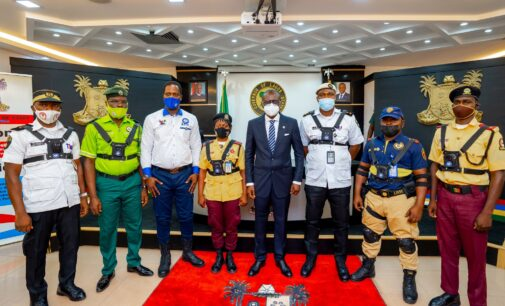 Law enforcement officers to start wearing body cameras in Lagos