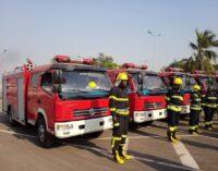 Presidency speaks on fire outbreak around Aso Rock
