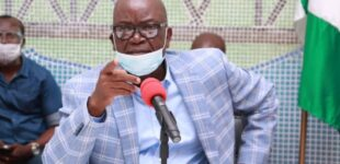 Ortom tackles presidency: I'd make same comments as Kukah if I could address US congress