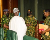 Insecurity: Service chiefs will appear before senate on Thursday, says Lawan