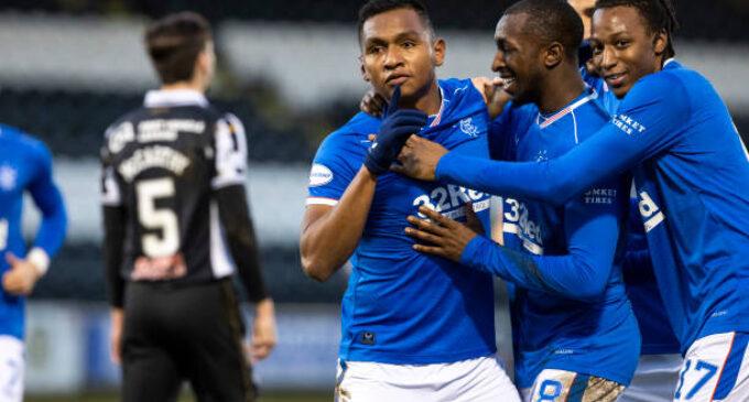 Aribo, Balogun win Scottish Premiership title with Rangers