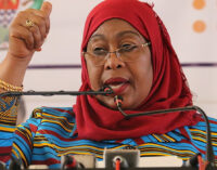 Samia Hassan sworn in as Tanzania's president — first female to lead the country