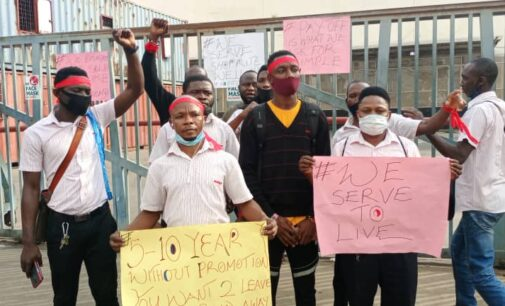 Shoprite staff protest, demand pay off ahead of Nigerian management takeover