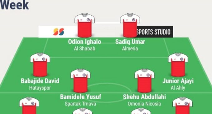 Uzoho, Ajayi, Ighalo… TheCable's team of the week