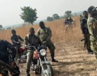 Two 'bandits' killed as troops destroy their hideout in Kaduna