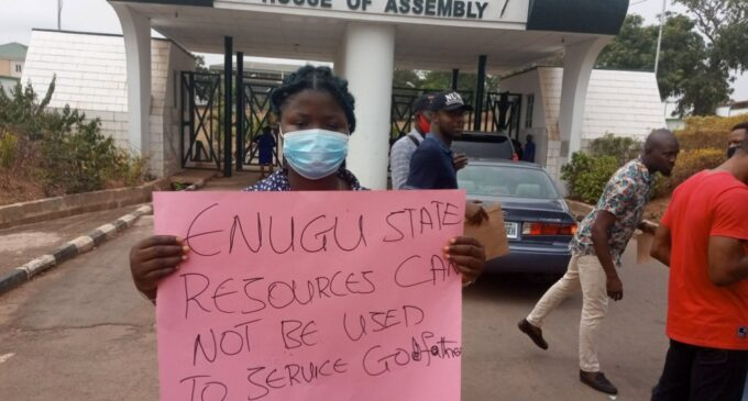 Enugu assembly drops life pension bill for ex-governors — after outcry