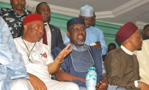 Okorocha accuses Uzodinma of spending N1bn to recall him from senate