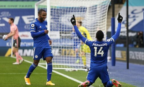 EPL results: Man United beat West Ham as Iheanacho's hat-trick inspires Leicester win