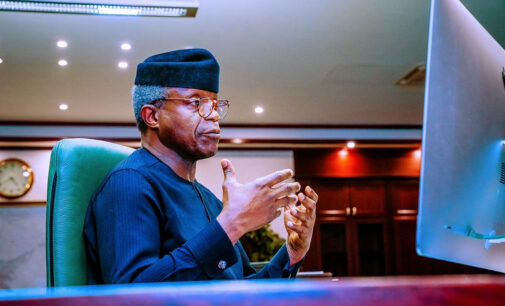 We must recommit ourselves to promoting peace, Osinbajo tells Nigerians in Ramadan message