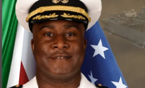 US embassy celebrates first Nigerian-American to captain a navy ship