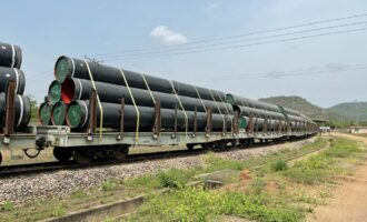 AKK gas pipeline project: NNPC begins transportation of line pipes by rail