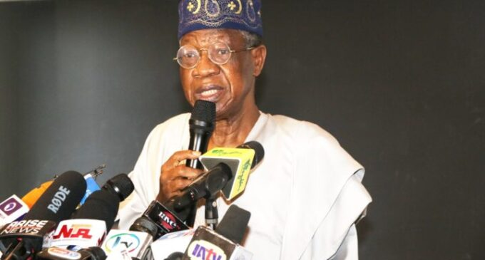Lai: Any social media platform used to bring down Nigeria will be suspended