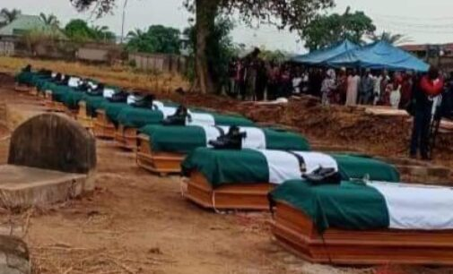 Army buries soldiers killed in Benue
